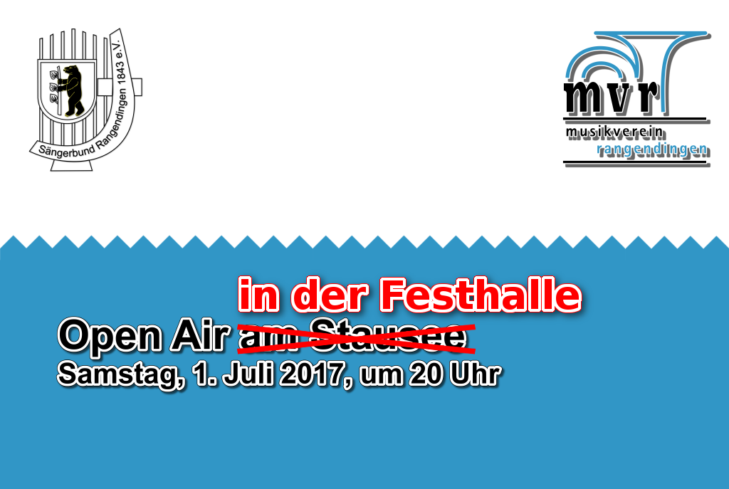 Open Air - 1. Juli 2017, 20 Uhr